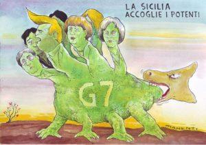 No al G7 di Taormina - Guglielmo Manenti