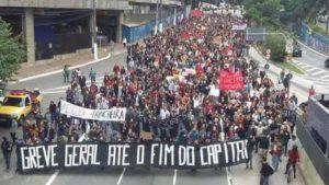 brasile sciopero generale
