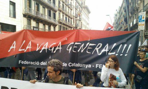 Comunicato congiunto di CNT, CGT e Solidaridad Obrera sulla situazione in Catalogna