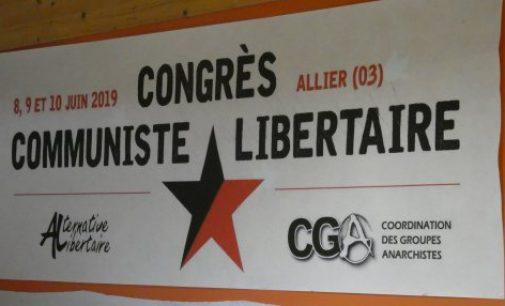 Saluti al Congresso di unificazione AL-CGA
