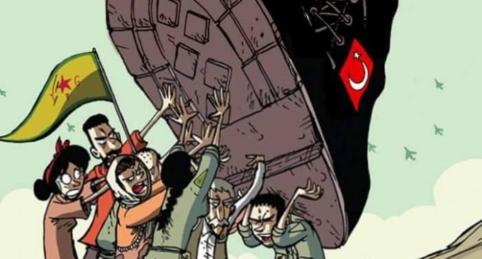 Contro l'aggressione turca