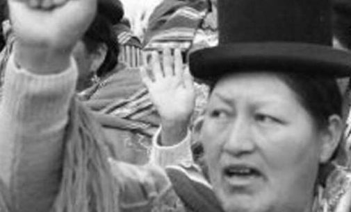 Bolivia – No al golpe militare