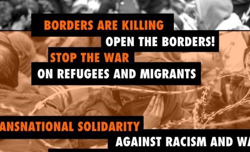 Solidarietà internazionale contro guerra e razzismo