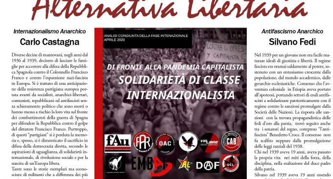 Il foglio telematico di Alternativa Libertaria